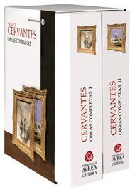 ESTUCHE-OBRAS-COMPLETAS-CERVANTES-VOLUMEN-I-Y-II-
