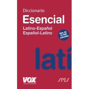 DICCIONARIO-ESENCIAL-LATINO-ESPAÑOLESPAÑOL-LATINO