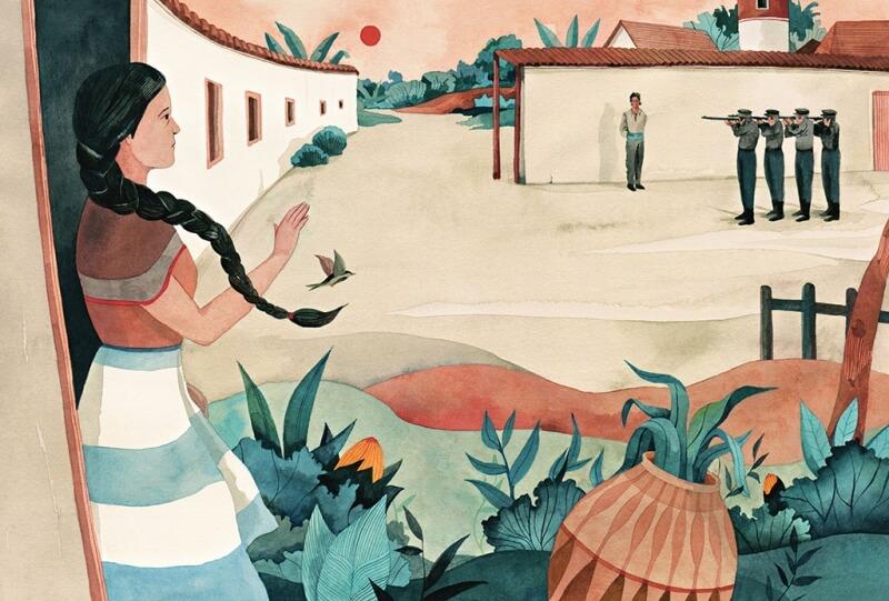 Ilustracion Cien Años de Soledad 2