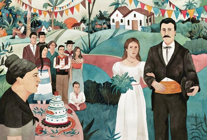Ilustracion Cien Años de Soledad 3