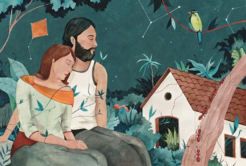 Ilustracion Cien Años de Soledad 4