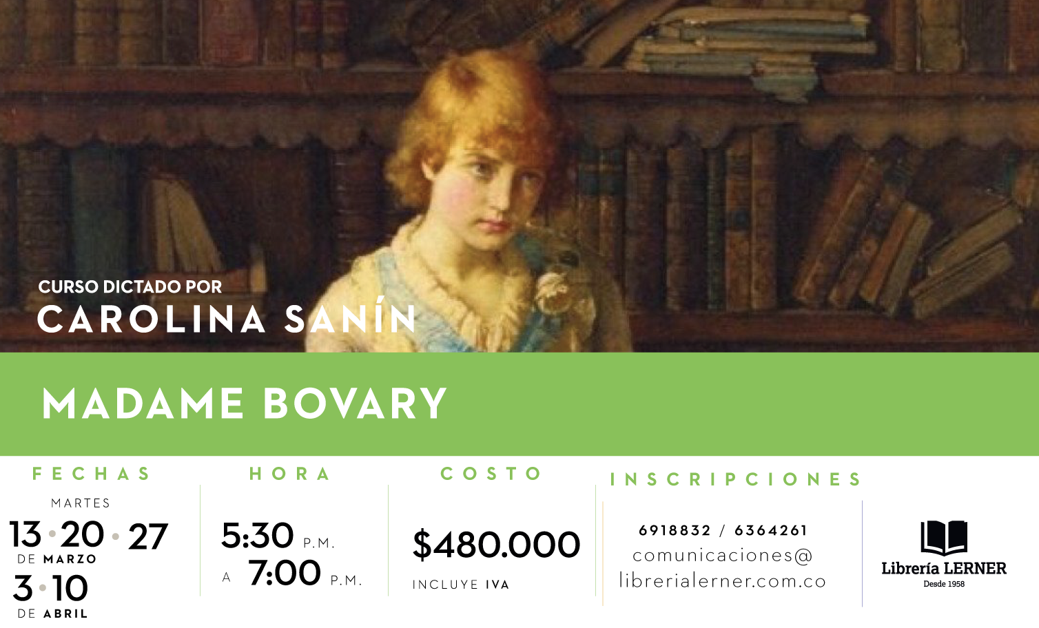 Banner Madame Bovary