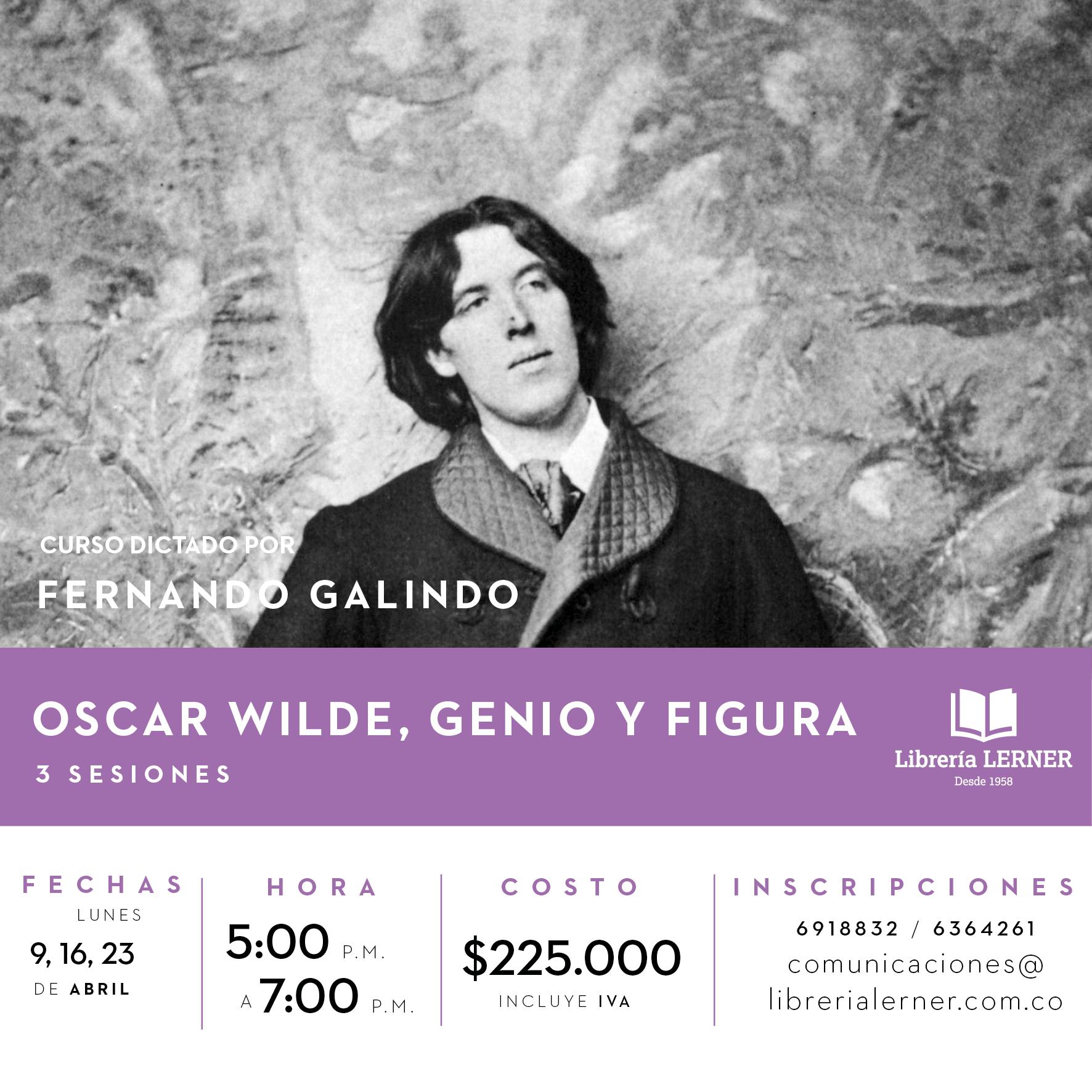 Curso Oscar Wilde