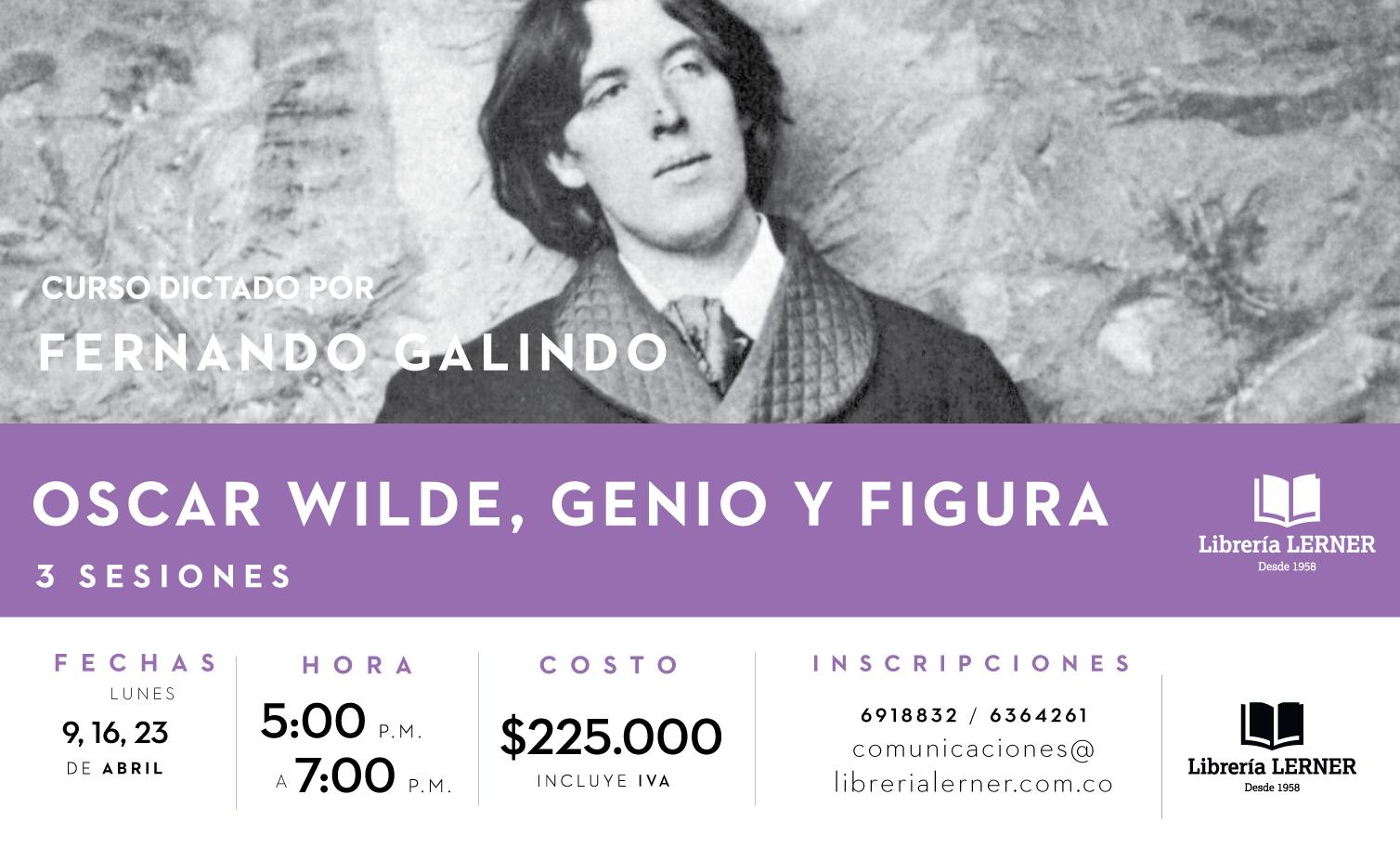 Banner Oscar Wilde