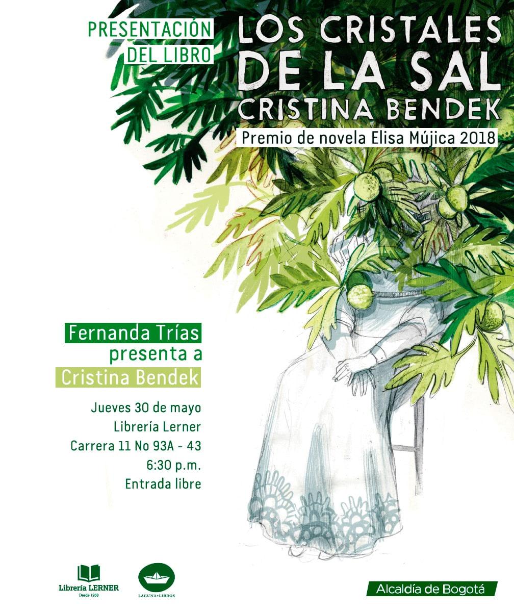 Presentación del libro LOS CRISTALES DE LA SAL de Cristina Bendek
