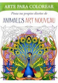 PINTA-TUS-PROPIOS-DISEÑOS-DE-ANIMALES-ART-NOUVEAU